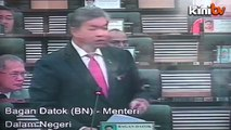 """Parliament Uncut: Zahid - """"Azmin doesn't sit with PKR because he didn't become MB"""""""