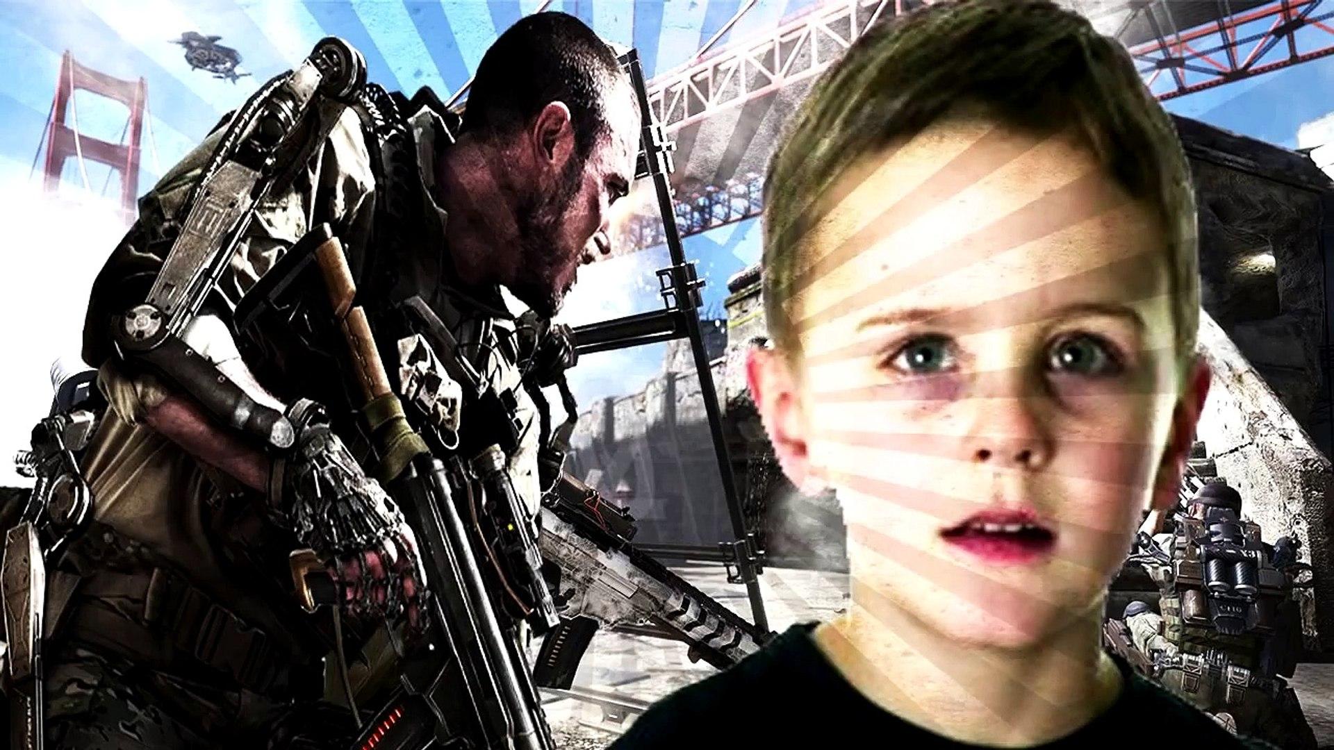 FUNNIEST KID ON XBOX LIVE!!! (Advanced Warfare)