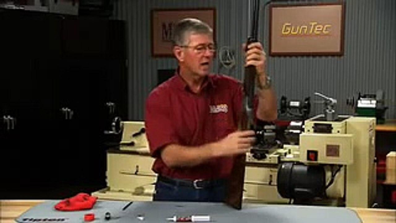 Gunsmithing - How to Lubricate a Break Open Shotgun to Reduce Wear