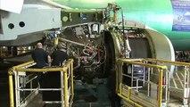 Building IAG Cargo's 747-8F