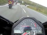 Isle of Man MAD SUNDAY - Honda CBR 1000rr Fireblade - No music