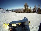 Heavenly Mountain Resort Snowboarding - Olympic Downhill Run