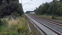 Lime Train NMBS at Anrath Germany 12.7.2015