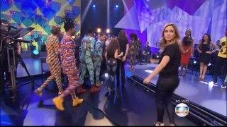 Nossa amada estrela Paolla Oliveira dançando no Show do Criançã Esperançã 2015, Arrasou !!!