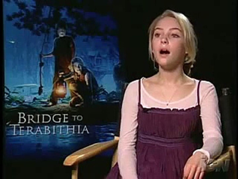 Interviews Bridge to Terabithia - AnnaSophia Robb & Josh Hutcherson 1st -  video Dailymotion