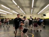 Michigan Xtreme Wrestling Workout