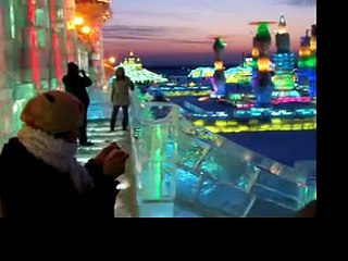 Harbin Ice Festival at Dusk (China) Watch Free Online