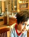 Joshua Boudreau 3 Year Old Child singing 10,000 Reasons (Bless The Lord Oh My Soul)