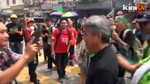 Black 505 (2pm-3pm) Jalan Sultan: Crowd moves towards Padang Merbok