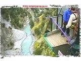 Halirious Canyon Swing Jump! New Zealand Queenstown