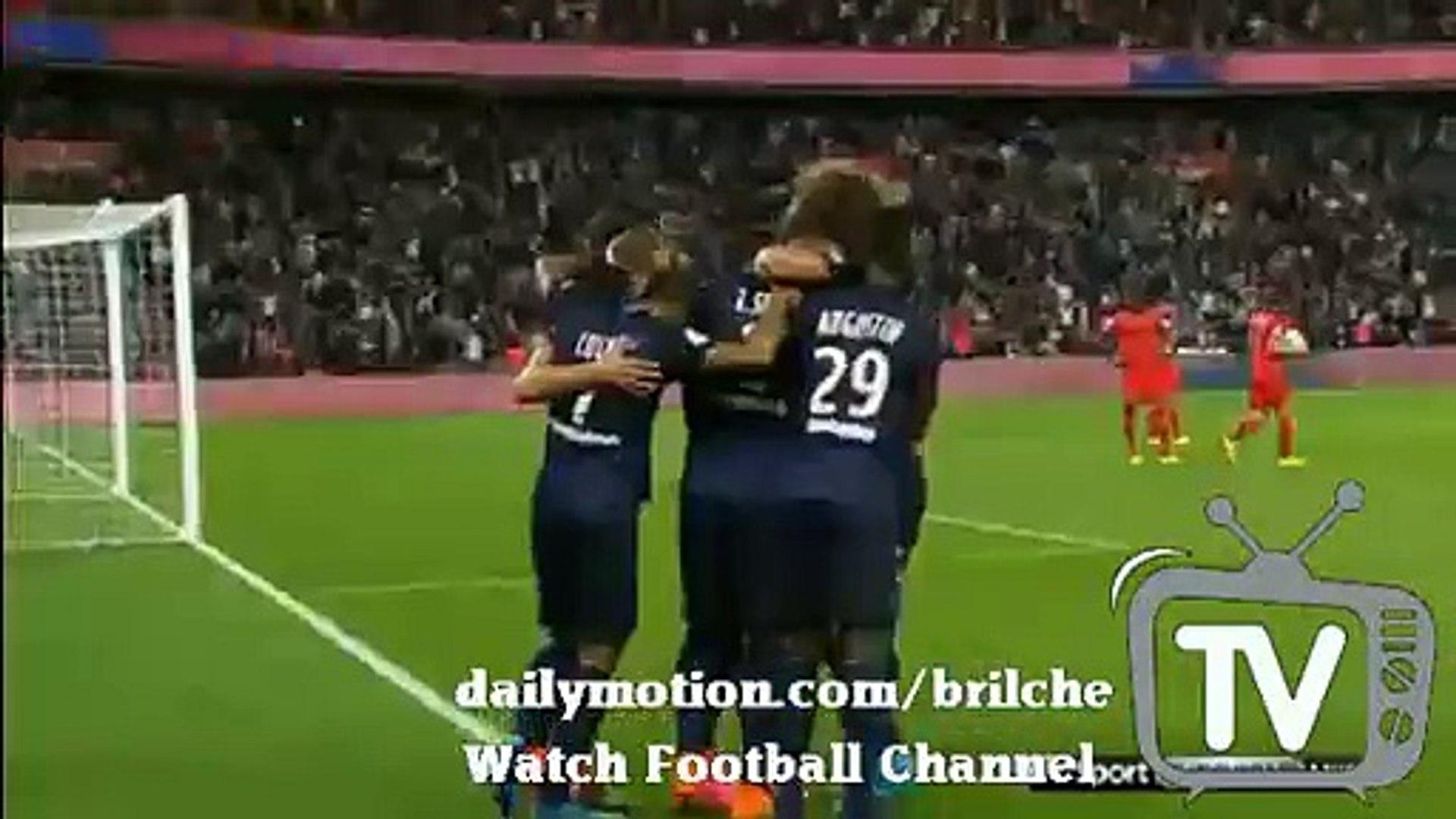 T.Silva Amaizing GOAL PSG 2:0 GFC Ajaccio 16.08.2015 Ligue1