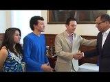 EC396: Jóvenes innovadores presentan proyectos tecnológicos en la Vicepresidencia