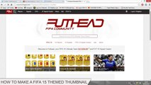 Photoshop Tutorial   How to make a FIFA 15 Style Thumbnail