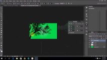 How to make single side visiting card easy steps with Photoshop CC - tutorial