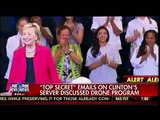 """""""Top Secret"""" Emails On Hillary Clinton's Server Discussed Drone Program - America's Newsroom"""