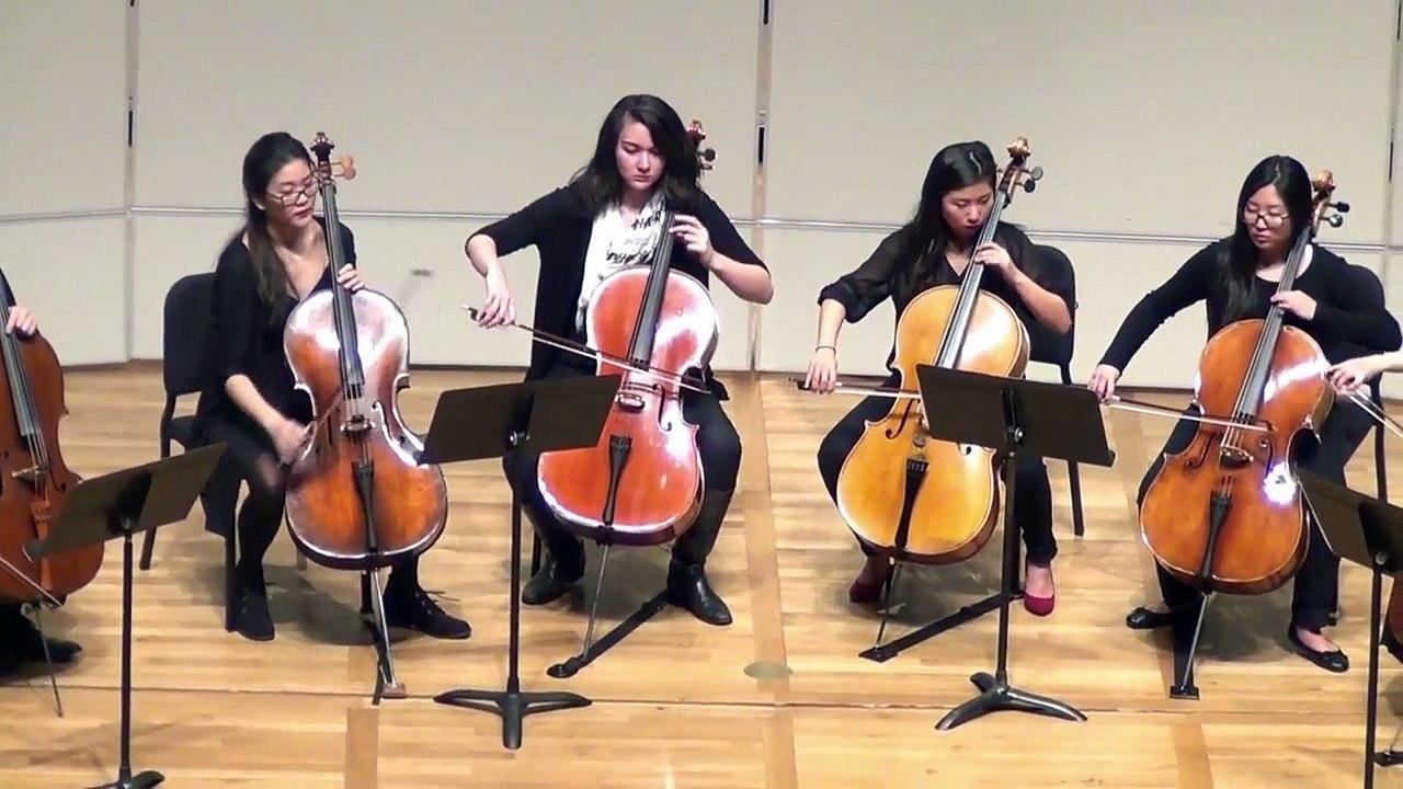 Klengel - Hymnus for 12 Cellos, Op  57 [Celli@Berkeley]
