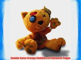 Zombie Katze Creepy Cuddlers II Fluffenrot Puppe