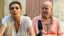 Interview de Nathalie Mann & Hugues Leforestier pour Le Projet Poutine sur Avignon