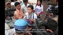 Actions Urgentes : témoignage de Tep Vanny, militante contre les expulsions forcées au Cambodge.