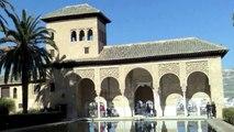 La Alhambra  - Granada -  España - Patrimonio de la Humanidad  de la Unesco