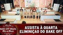 Assista à quarta eliminação do Bake Off Brasil