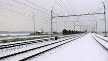 731.045-1 ČD Cargo na Mn vlaku (zda se dá hovořit o vlaku)