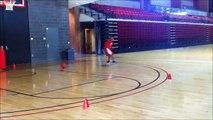 Basketball Conditioning - Ball Handling Workout.wmv