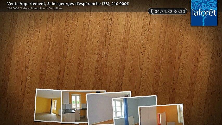 Vente Appartement, Saint-georges-d'espéranche (38), 210 000€