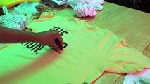 DIY Tie Dye Shirts! 3 Different Ways To Tie Dye!