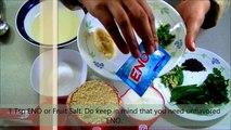5 Minute Besan Dhokla (Khaman) in Microwave Hindi with Eng Subtitles