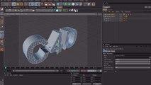Cinema 4D Tutorial - PBlurp Node - Fragmented Morphing
