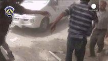 Syrie : raids aériens dans la banlieue de Damas, au moins 80 morts