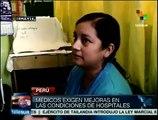 Huelga médica en Perú cumple siete días