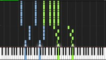 The Dark Knight Rises Medley - Hans Zimmer [Piano Tutorial] // Mark Fowler (Synthesia)