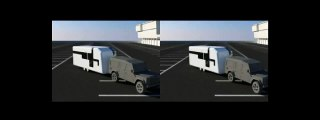 3D Stereoscopic Rendering of Concept Transport Vehicle Huddersfield 3D