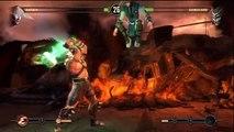MK9 BOSS - How to beat Shao Kahn - Story mode ending Mortal Kombat 9