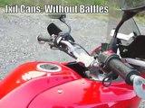 Kawasaki Versys with Twin Ixil Exhaust