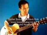 老鼠愛大米 - Lao Shu Ai Da Mi - Guitar Solo -http://williamkok.com