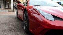 Ferrari 458 Speciale a Montecarlo