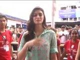 'Diwale' Actress Kriti Sanon Attends 'Umang Festival 2015'- Take A Look!