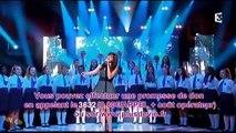 Nolwenn Leroy chante La ballade Nord-Irlandaise dans 300 choeurs pour + de vie