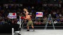 WWE 2K15 Unforgiven 2006 - John Cena vs Edge - WWE Championship TLC Match