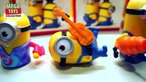 COMPLETE MINIONS 2015   MCDONALD'S HAPPY MEAL TOYS! Minions toys for kids!