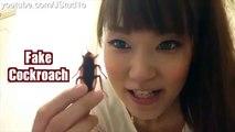 【Prank】Fake Cockroach Prank on Kei! w   Kei and Mai