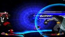 DC vs Capcom vs Marvel: Heroes Assembled HD Mugen - Batman vs Spawn Gameplay Footage!!