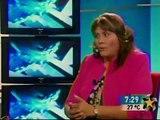 EVA MARTIN DEL CAMPO GONZALEZ 3 Entrevistas  Multimedios Televisión, Programa TELEDIARIO