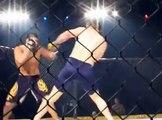 Diego Gonzalez v Arni Isaksson at Cage Warriors (round 1)