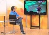 Projection Mapping set for Sportv channel - Mapeamento de projeção para Sportv