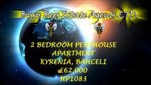 HP1083 2 Bedroom Luxury Penthouse Apartment Bahceli, Kyrenia  £62,000