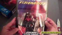 STAR WARS DARTH MAUL & OWEN LARS HASBRO COMIC 2-PACK SDCC EXCLUSIVE UNBOXING